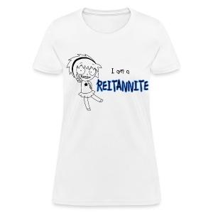 Reitannite White Shirt Women - Women's T-Shirt