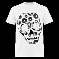 T-Shirts ~ Men's T-Shirt ~ Mens Style Skull Street Style T-Shirt