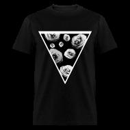 T-Shirts ~ Men's T-Shirt ~ Mens Rose Triangle Street Style T-Shirt