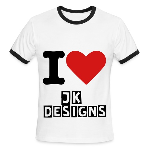 I Love JK Designs - Men's Ringer T-Shirt