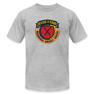 Madhouse Hockey Sniper - Men's T-Shirt by American Apparel