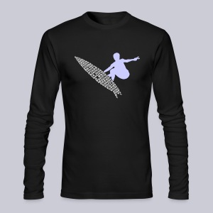 Surf Diego - Men's Long Sleeve T-Shirt by Next Level