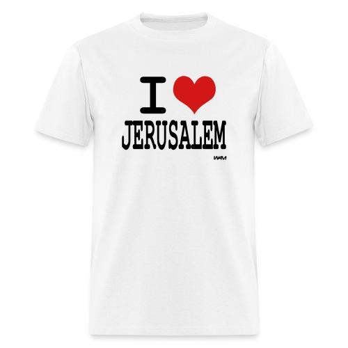 I Love Jerusalem - Men's T-Shirt