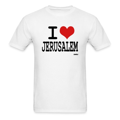 I Love Jerusalem - Men's T-Shirt