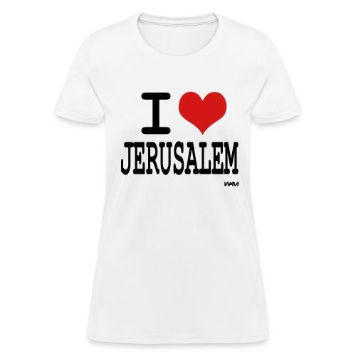 I Love Jerusalem - Women's T-Shirt
