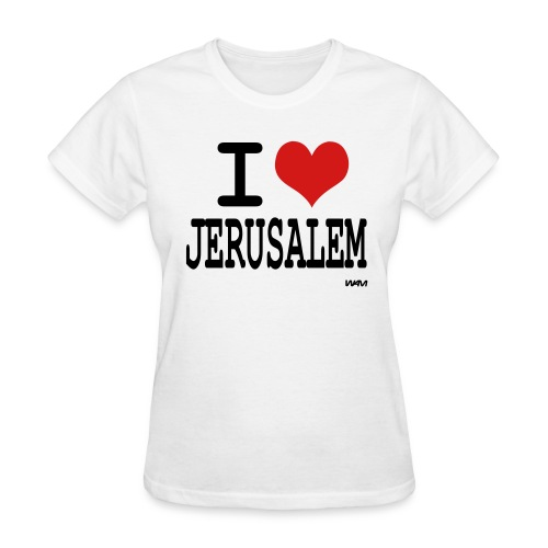 I Love Jerusalem - Women's T-Shirt