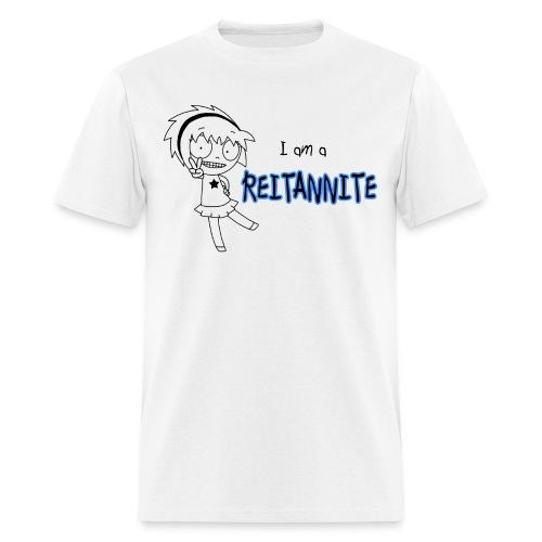 Reitannite White Shirt Men - Men's T-Shirt