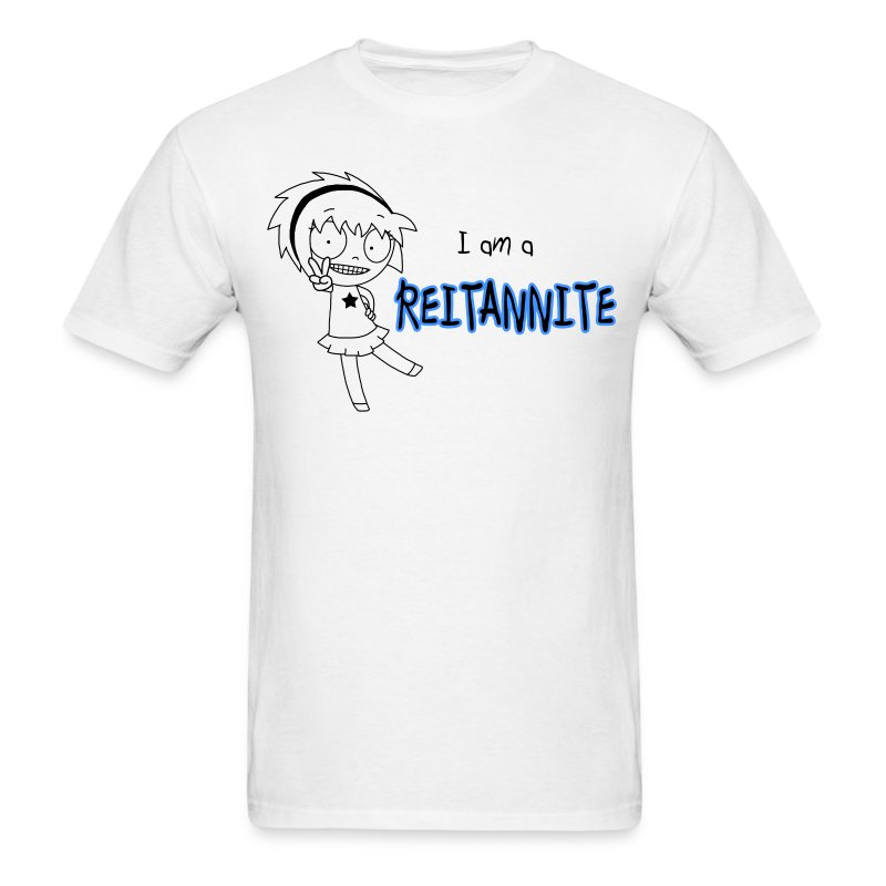 Reitannite White Shirt Men - Men's T-Shirt