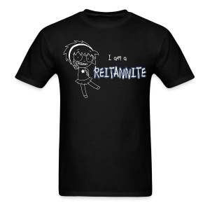 Reitannite Black Shirt Men - Men's T-Shirt