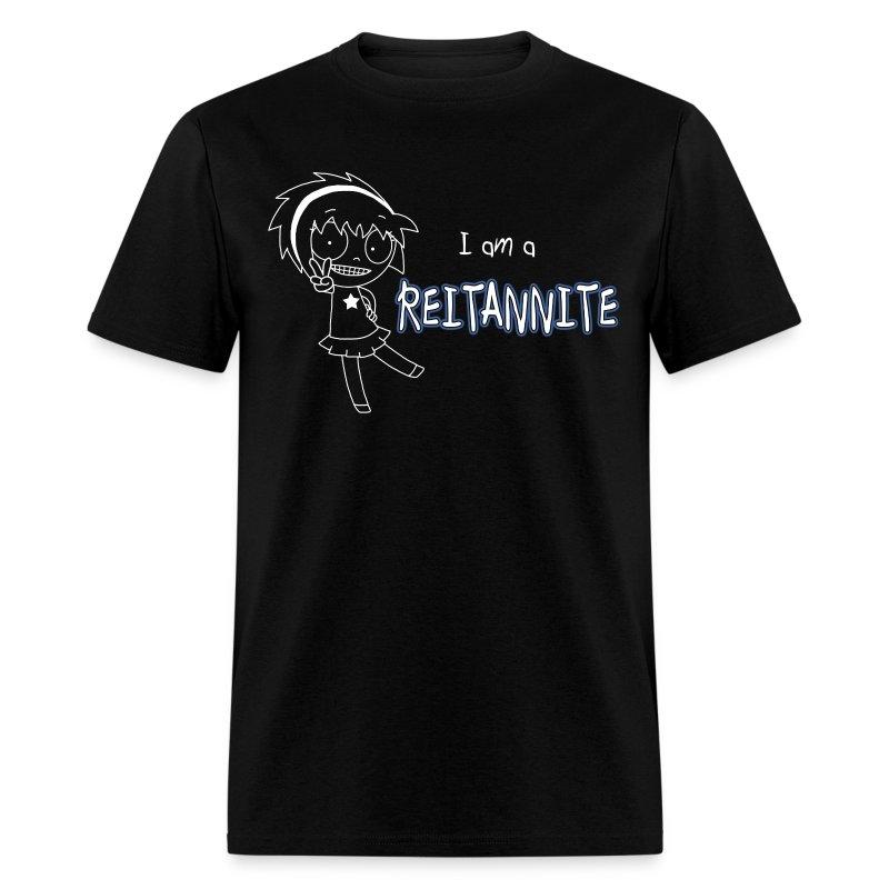 Reitannite Black Shirt Men - Men's T-Shirt