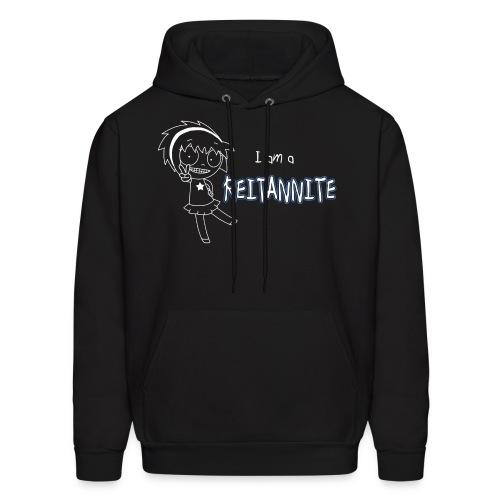 Reitannite Black Shirt Men's Hoodie - Men's Hoodie