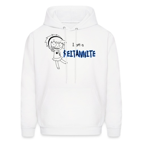 Reitannite White Shirt Men's Hoodie - Men's Hoodie