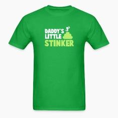 daddy's little stinker with steamy poo T-Shirts