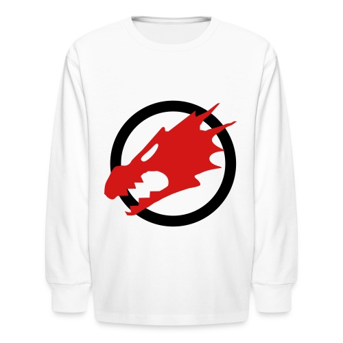 Kid's Fire Dragon Sweatshirt - Kids' Long Sleeve T-Shirt
