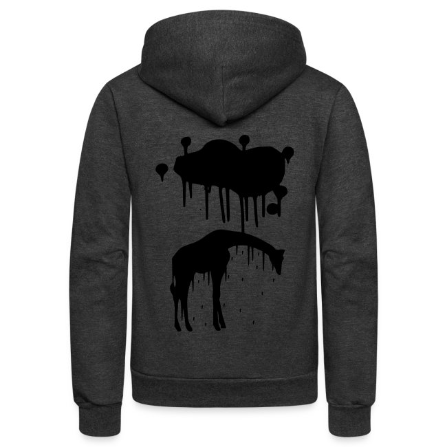 Melting Emo Giraffe Animal - Unisex Graphic Design Picture 95a42db52