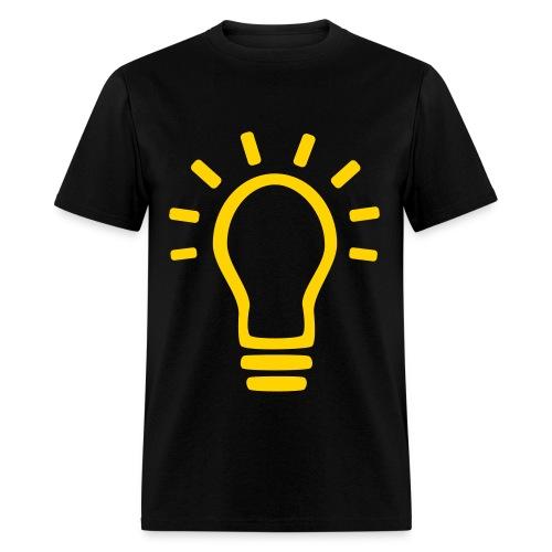 Men's Light Bulb Shirt - Men's T-Shirt