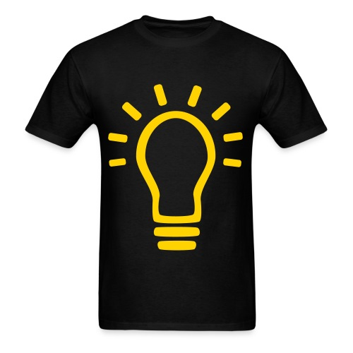 Men's Light Bulb Shirt - Men's T-Shirt
