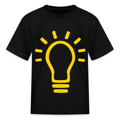 Kid's Light Bulb Shirt - Kids' T-Shirt