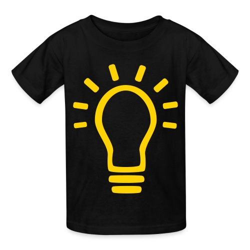 Kid's Light Bulb Shirt - Kids' T-Shirt