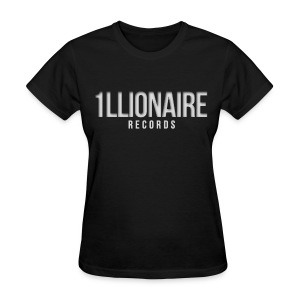 1llionair Records - Grey - Women's T-Shirt