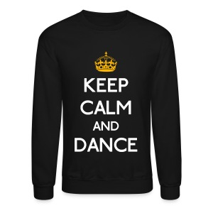 Keep Calm and Dance (Yellow) - Crewneck Sweatshirt
