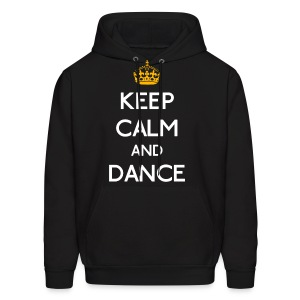 Keep Calm and Dance (Yellow) - Men's Hoodie