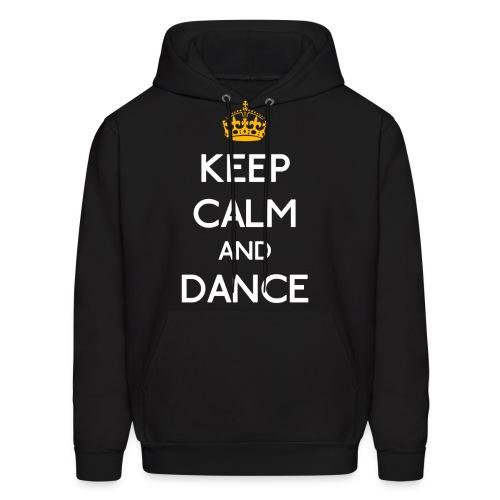 Keep Calm and Dance (Yellow) - Men's Hoodie
