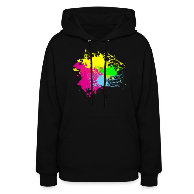 3a2a809edb Colors Paint Splatter - Unisex Graffiti Graphic Design - Multicolor