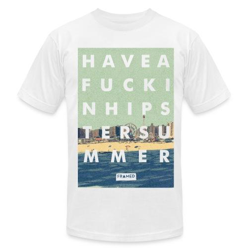 Hipster Summer Tee - Men's Fine Jersey T-Shirt