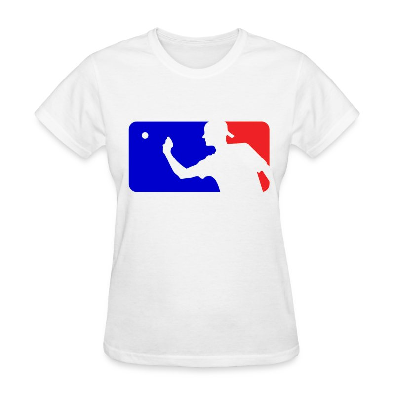 Major League Beer Pong Logo Girls Women T Shirt - Women's T-Shirt