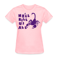 T-Shirts ~ Women's T-Shirt ~ Scorpion
