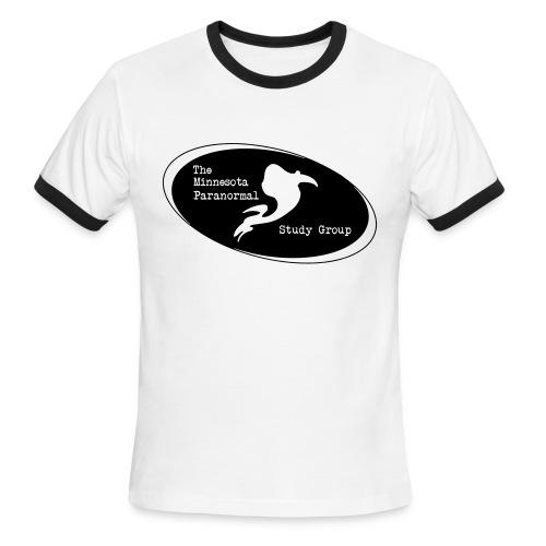 MNPSG Logo Ringer T-Shirt - Men's Ringer T-Shirt
