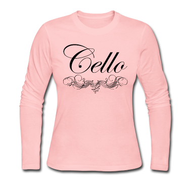 Cello Script Long Sleeve Shirts