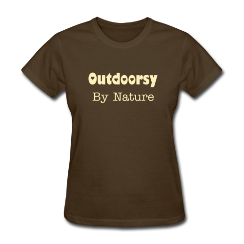 Outdoorsy - Women's T-Shirt