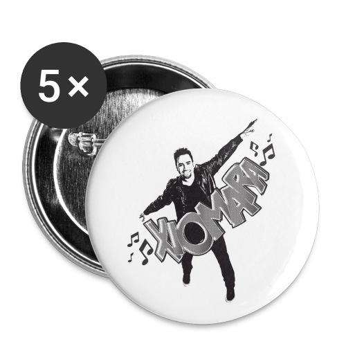 Xiomara-PIN - Small Buttons