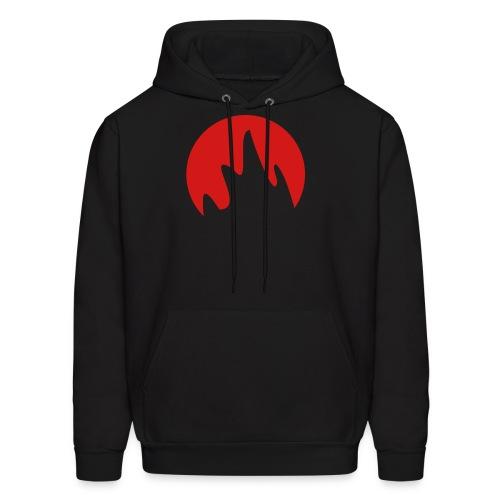 Flame Logo Hoodie - Men's Hoodie