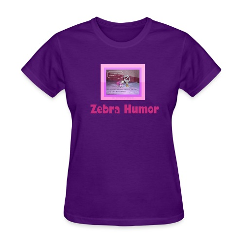 Zebra Humor Pageant Tee - Women's T-Shirt