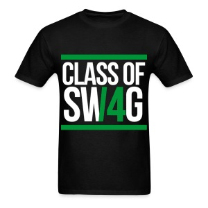 CLASS OF SWAG (14) Green - Men's T-Shirt