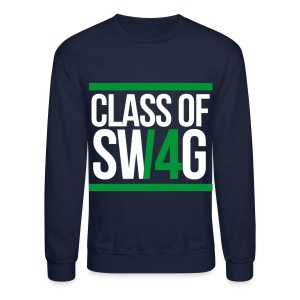 CLASS OF SWAG (14) Green - Crewneck Sweatshirt