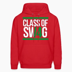 CLASS OF SWAG (2014) Green with bands Hoodies
