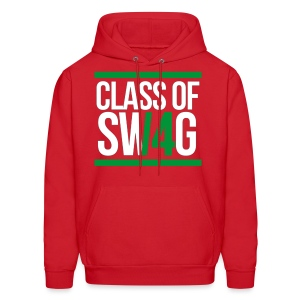 CLASS OF SWAG (14) Green - Men's Hoodie