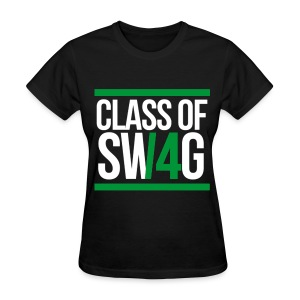 CLASS OF SWAG (14) Green - Women's T-Shirt