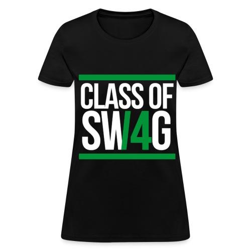 CLASS OF SWAG (14) Green - Women's T-Shirt