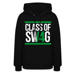 CLASS OF SWAG (14) Green - Women's Hoodie