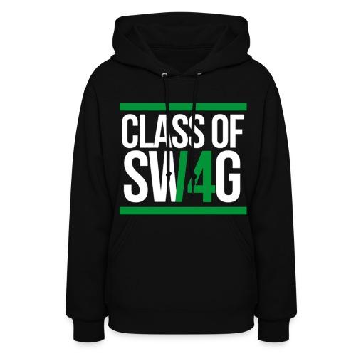 CLASS OF SWAG (14) Green - Women's Hoodie