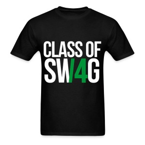 CLASS OF SWAG (14) Green no band - Men's T-Shirt