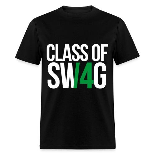 CLASS OF SWAG (14) Green no band - Men's T-Shirt