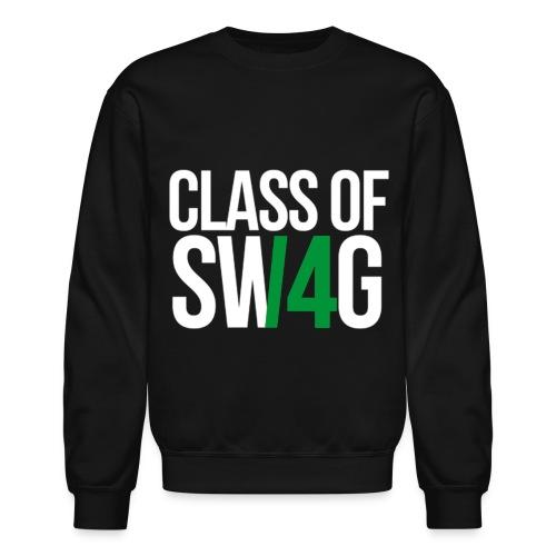 CLASS OF SWAG (14) Green no band - Crewneck Sweatshirt