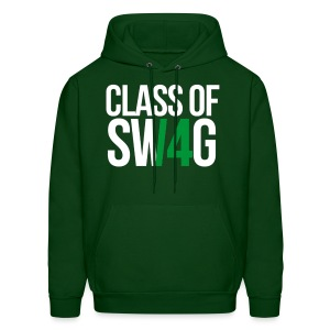 CLASS OF SWAG (14) Green no band - Men's Hoodie