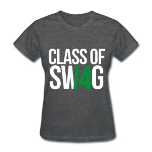 CLASS OF SWAG (14) Green no band - Women's T-Shirt